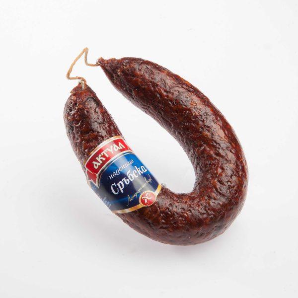 Сръбска наденица за барбекю